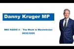 Embedded thumbnail for Danny Kruger - BBC Radio 4's The Week in Westminster (08/02/2020)